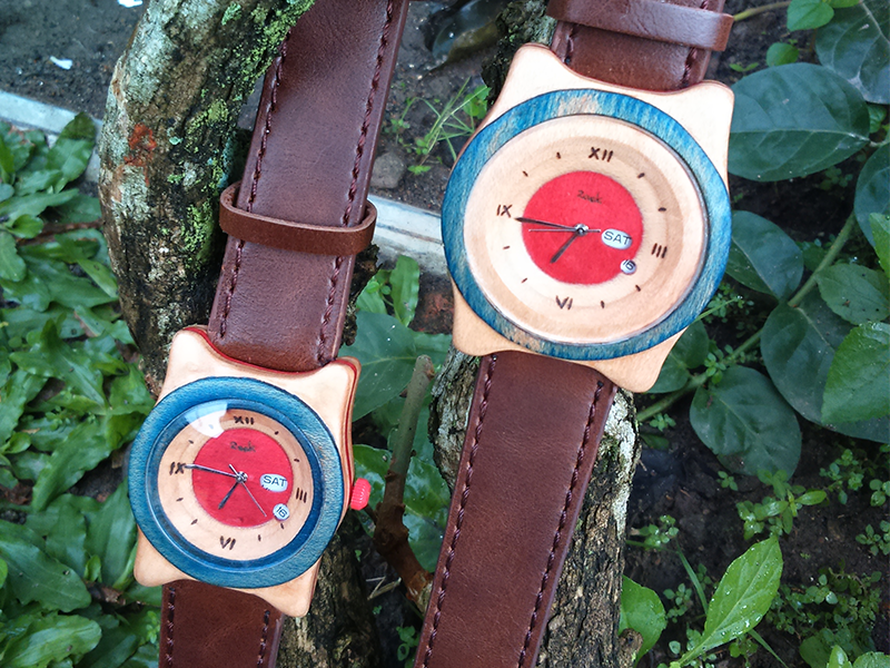 Recycle Skateboard Watches 2